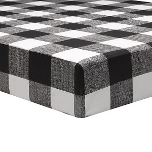 Liz and Roo Crib Sheet - Buffalo Check