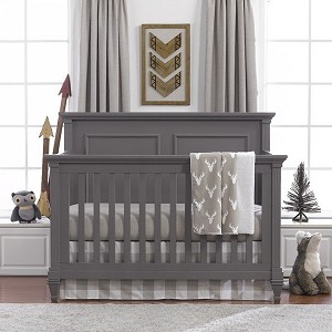 Liz and Roo Taupe Buck Woodland Bedding