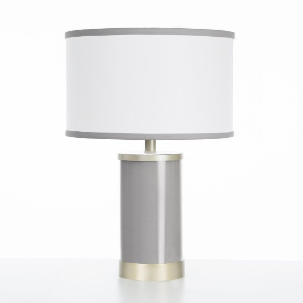 Oilo Stone Table Lamp with Gold Finish