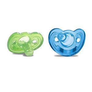 Gumdrop Infant Pacifiers (2 pack) - Blue & Green