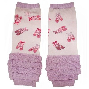 Huggalugs Baby Dance Slippers Leg Warmers