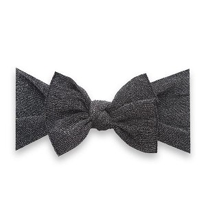 Bow Knot Headband - Shimmer Black