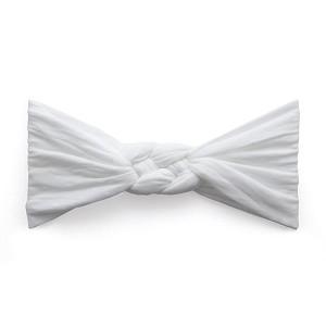 Baby Bling Sailor Knot Headband in White Dot  506ce804d05