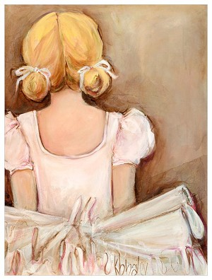 Beautiful Ballerina Canvas Reproduction
