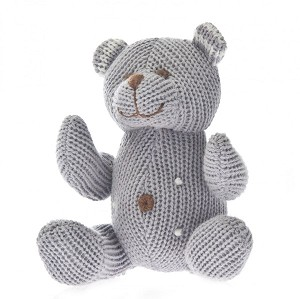 Knit Rattle - Bear