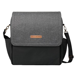 Boxy Backpack - Graphite & Black