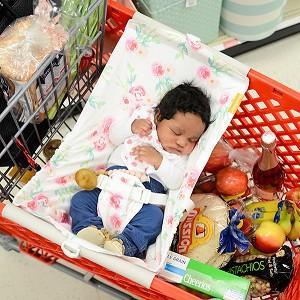Binxy Baby Shopping Cart Hammock Full Bloom Shop Baby