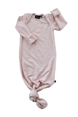 Knotted Sleeper - Blush Stripe