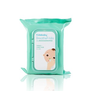 BreatheFrida Nose-Chest Wipes