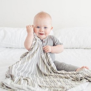 Knit Swaddle Blanket - Midtown