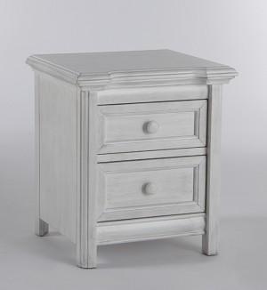 Pali Cristallo Nightstand Vintage White