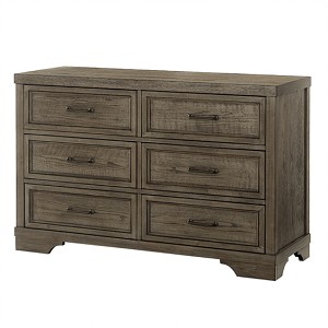 Westwood Foundry Double Dresser - Brushed Pewter