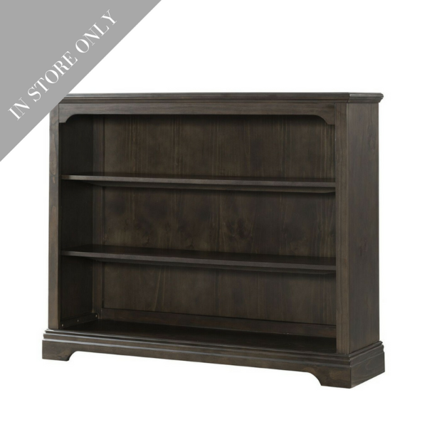 Highland Park Hutch/Bookcase - Charcoal (Boutique Exclusive!)