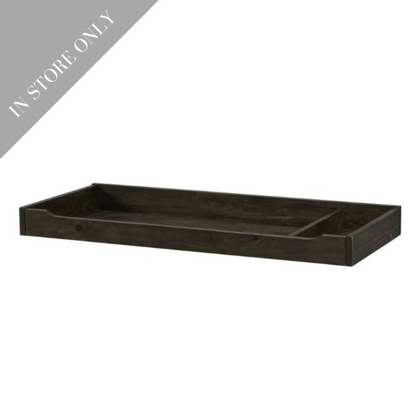 Highland Park Changing Tray - Charcoal (Boutique Exclusive!)