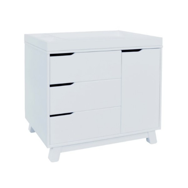 Babyletto Hudson 3-Drawer Changer Dresser - White