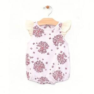 d9fc73c9657 PNW Baby Hydrangea Flutter Sleeve Bubble Romper in Lilac