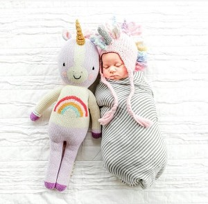 Unicorn Knit Hat - Multicolor