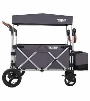 keenz 7s stroller wagon grey 2