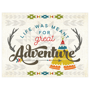 Life Was Meant For Great Adventures Canvas