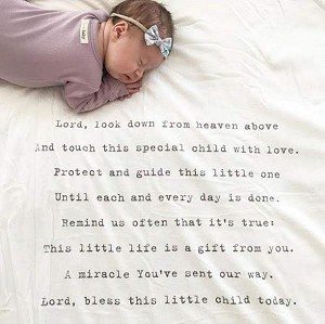 Lord Look Down Baby Blanket
