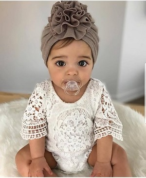 0d0f7507ae09 Lovely Lace Ruffle Sleeve Romper