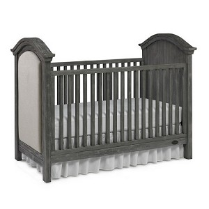 Dolce Baby Lucca Upholstered Crib - Weathered Grey