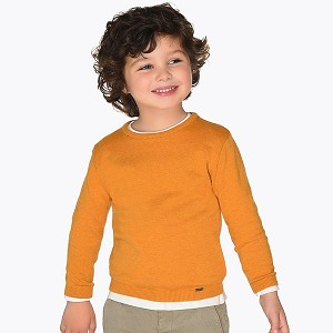 Mayoral Boys Sweater - Mustard