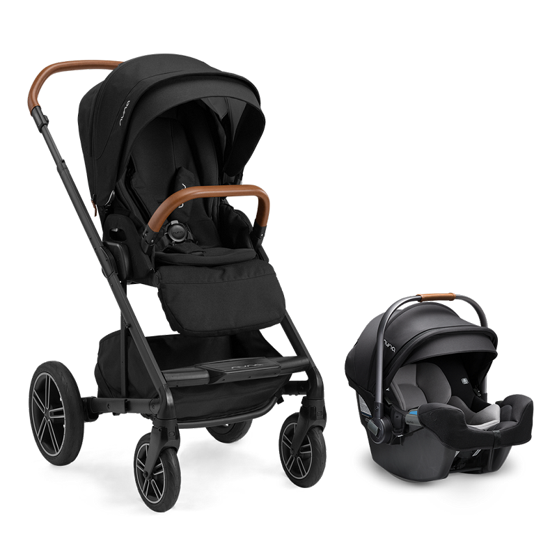 Nuna Mixx NEXT w Magnetic Buckle & Pipa RX - Caviar (NEW!)