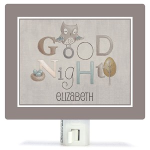 Night Light - Neutral Alphabet