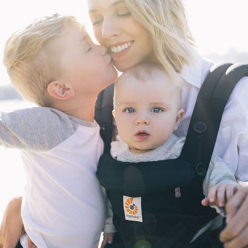 Ergo Omni 360 Baby Carrier - Cool Air Mesh - Onyx