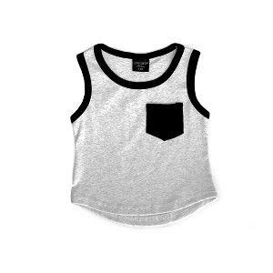 Pocket Tank - Grey
