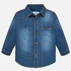 Denim Baby Boy Shirt