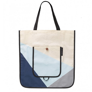 Shopper Tote - Kaleidoscope Midnight