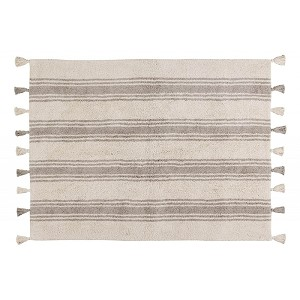 Lorena Canals Stripes Glaciar - Grey