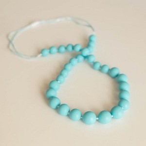 Classic Teething Necklace - Aqua