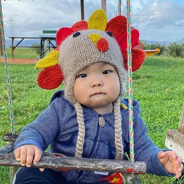 Huggalugs Little Turkey Beanie