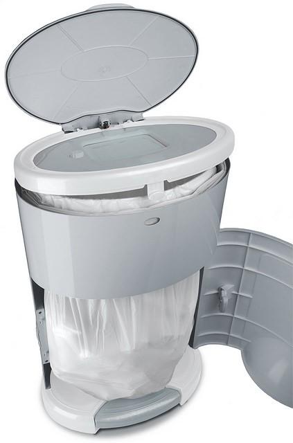 Dekor diaper pail plus white for Dekor plus diaper pail refills