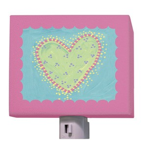 Dots Heart Night Light