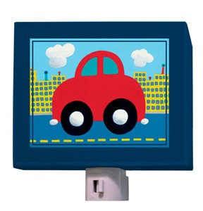 Red Car Night Light