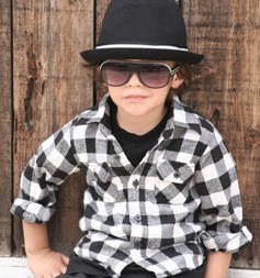 Born To Love Fedora Kids Hat