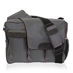 Diaper Dude Messenger II- Grey