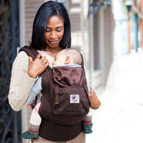 Ergo Organic Baby Carrier - Dark Chocolate