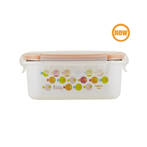 Keepin' Fresh Kids Stainless Bento - Fish Orange