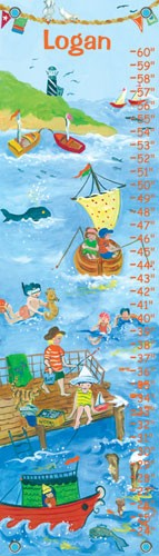 By The Sea Boy Oopsy Daisy Growth Chart