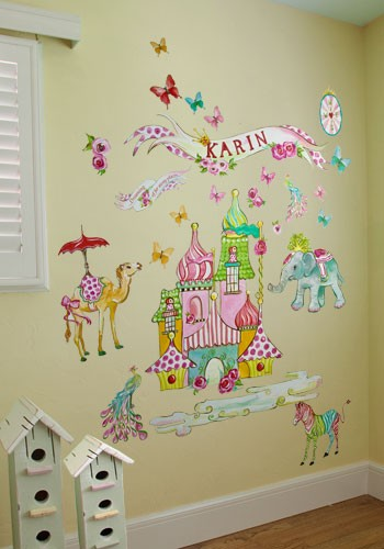 Exotic Kingdom Peel & Place Wall Stickers