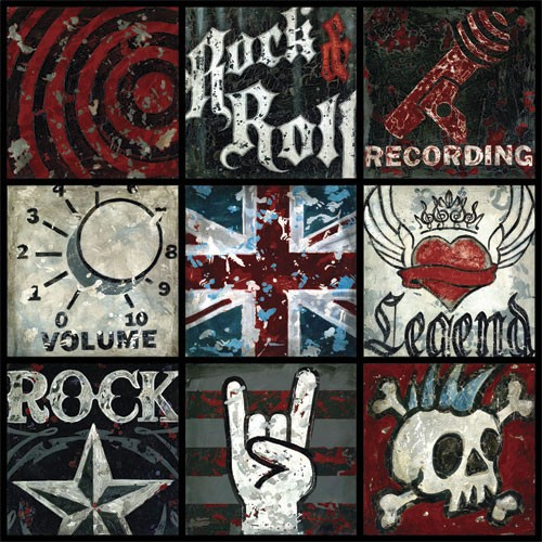 Rock & Roll Boy Canvas