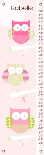 Three Little Owls Growth Chart