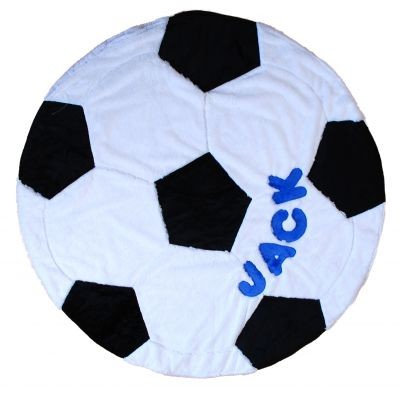 Personalized Soccer Blanket
