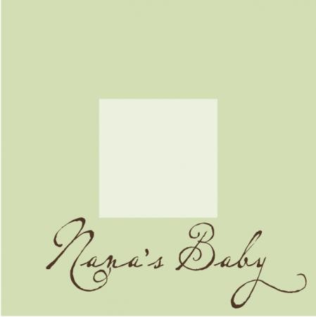 Nana's Baby Picture Frame - Additional Colors Available