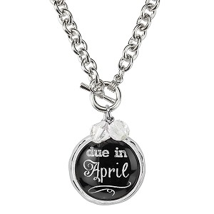 Due in April Necklace